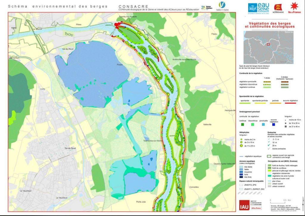 Le schéma des berges de la Seine dans l'Eure est désormais disponible.